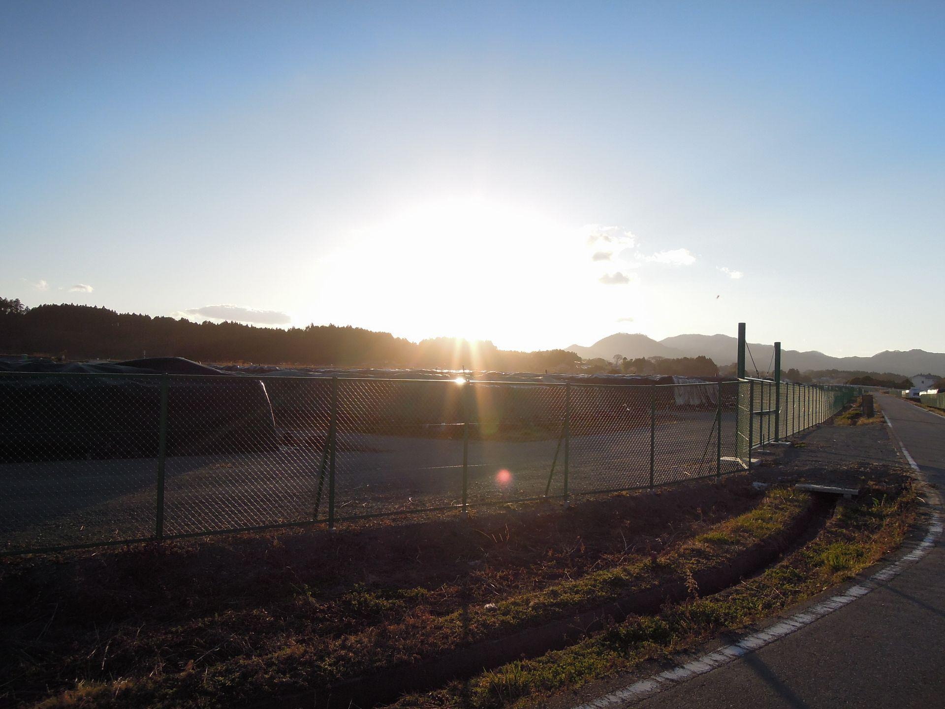 フレコンバッグの果てから果てから戻る - 2016/03/21 福島県 竜田駅から富岡駅 徒歩記録
